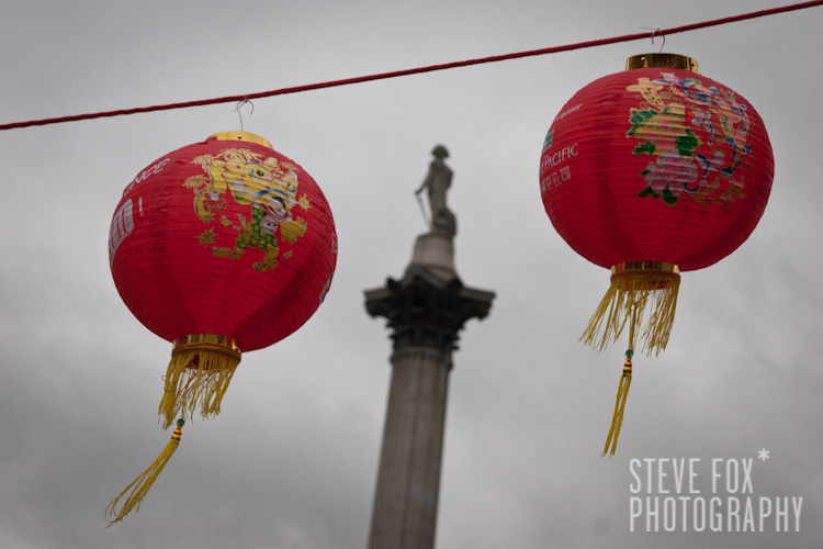 Chinese New Year 2011, London, England | Nelsons Column