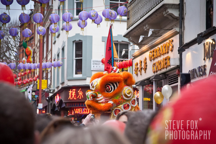 Dragon Dance, Chinese New Year 2011, London, England